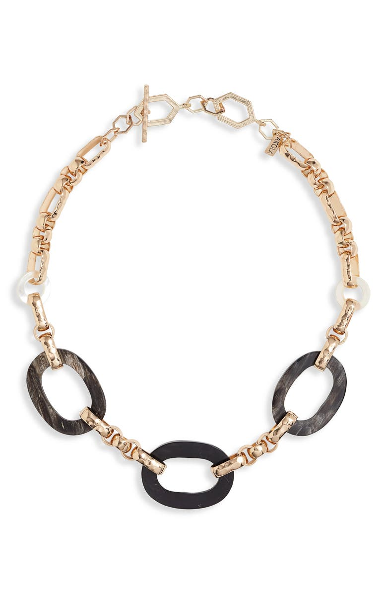 AKOLA Marconi Chain Link Necklace, Main, color, 001