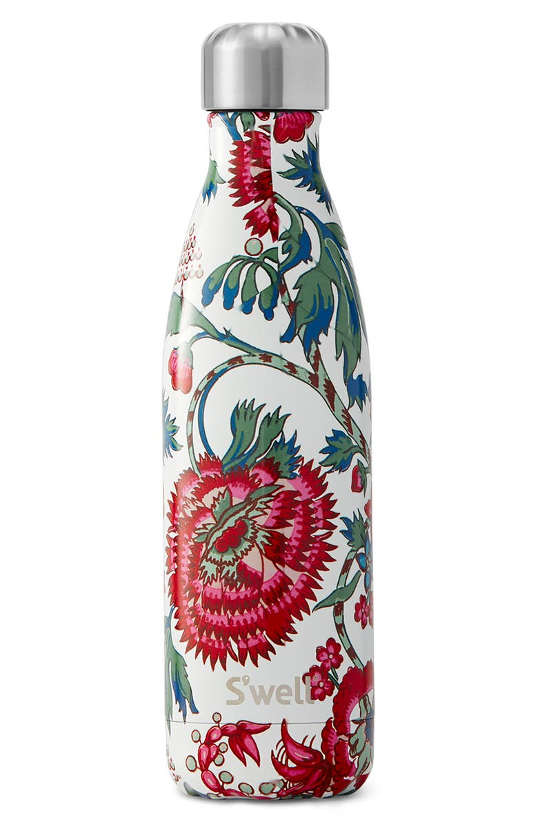 S'WELL Suzani 17-Ounce Insulated Stainless Steel Water Bottle, Main, color, SUZANI