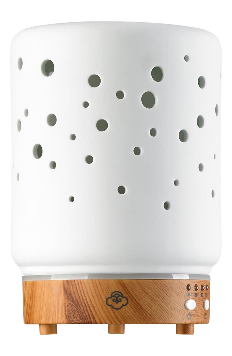 SERENE HOUSE Starlight Electric Aromatherapy Diffuser, Main, color, White