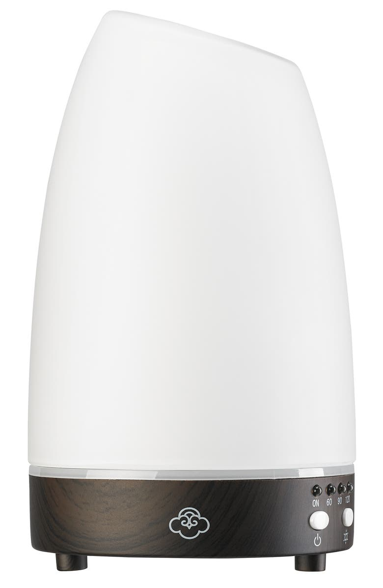 SERENE HOUSE Astro White Ultrasonic Aromatherapy Diffuser, Main, color, WHITE