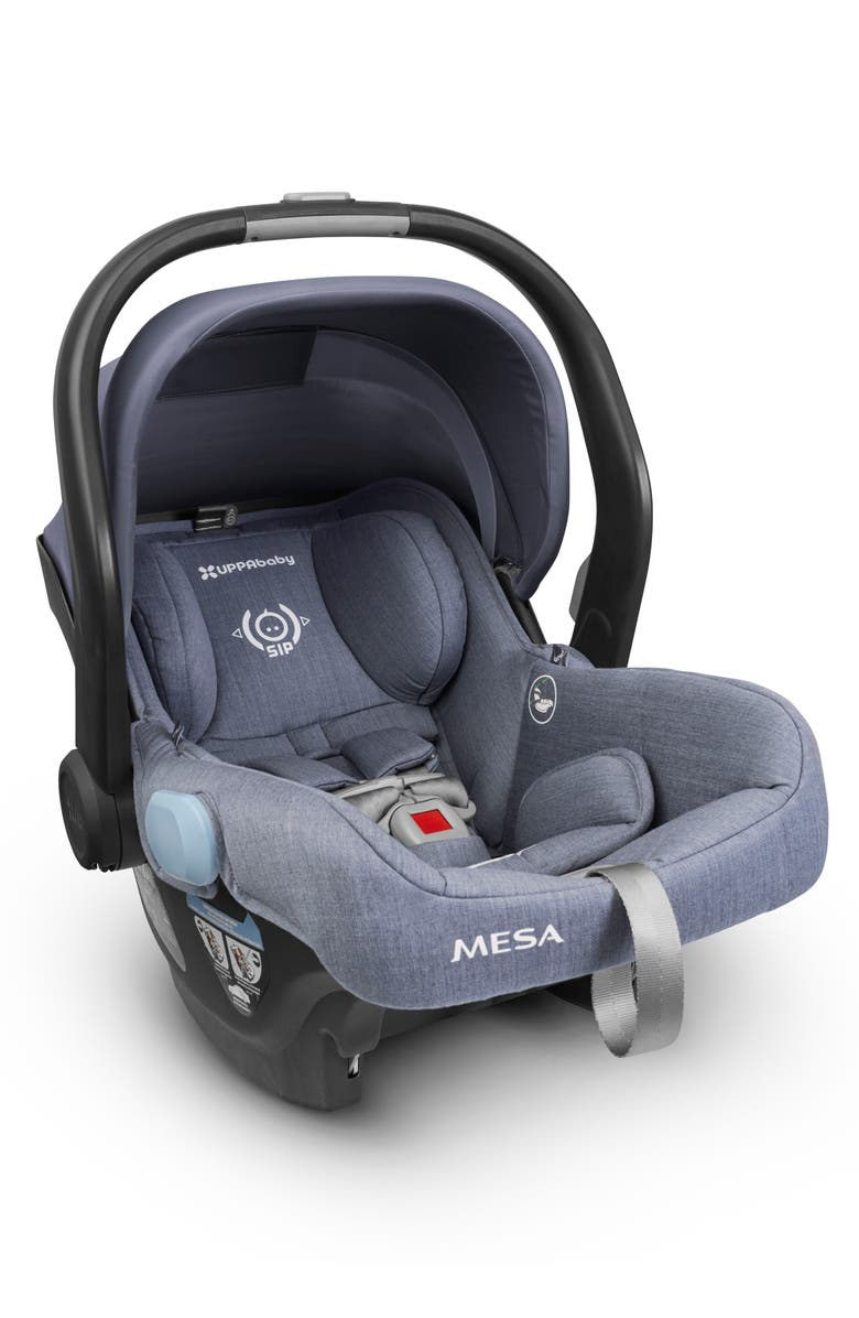 UPPABABY MESA Henry Special Edition Car Seat, Main, color, BLUE MARL/ MERINO WOOL