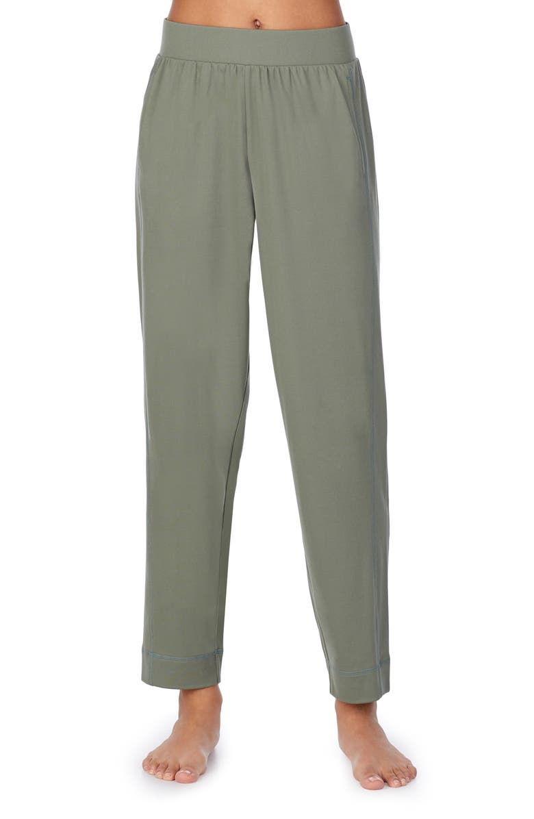 Z WELL Tapered Sleep Pants, Main, color, DARK OLIVE