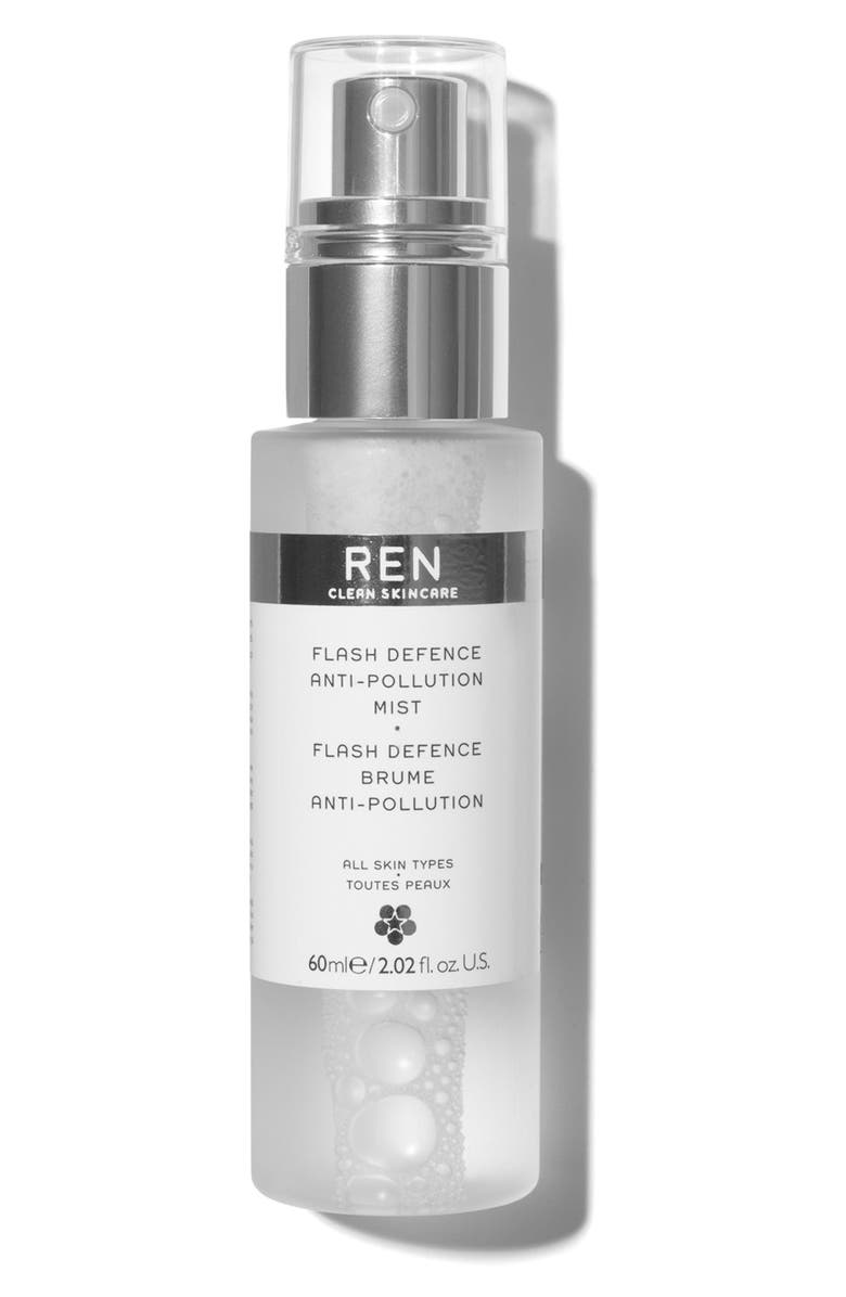 REN CLEAN SKINCARE Flash Defence Anti-Pollution Mist, Main, color, 000