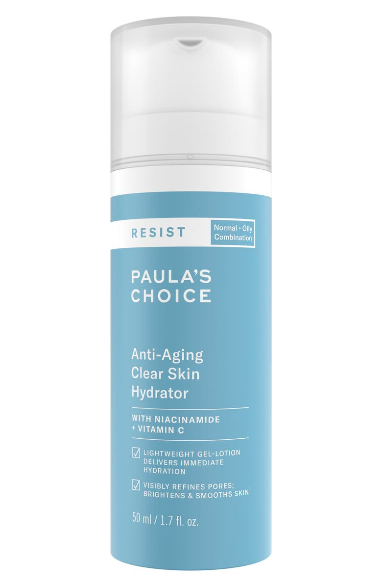PAULA'S CHOICE Resist Anti-Aging Clear Skin Hydrator, Main, color, No Color