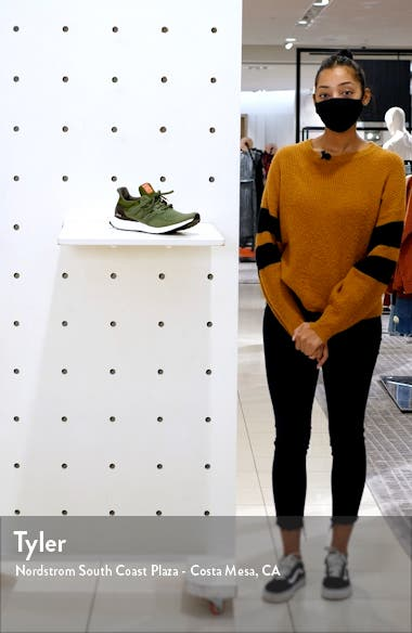 Men's UltraBoost LTD Wool Blend Running Shoe, sales video thumbnail
