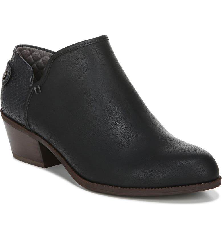 DR. SCHOLL'S Better Bootie, Main, color, BLACK