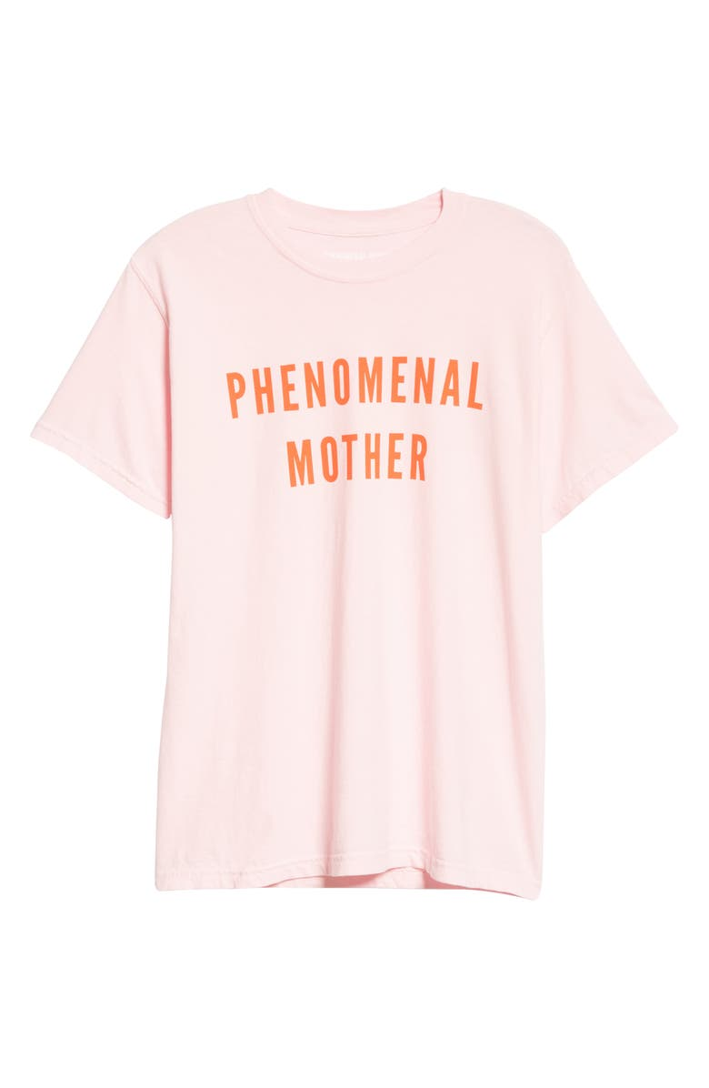 PHENOMENAL Phenomenal Mother Graphic Cotton Tee, Main, color, PINK