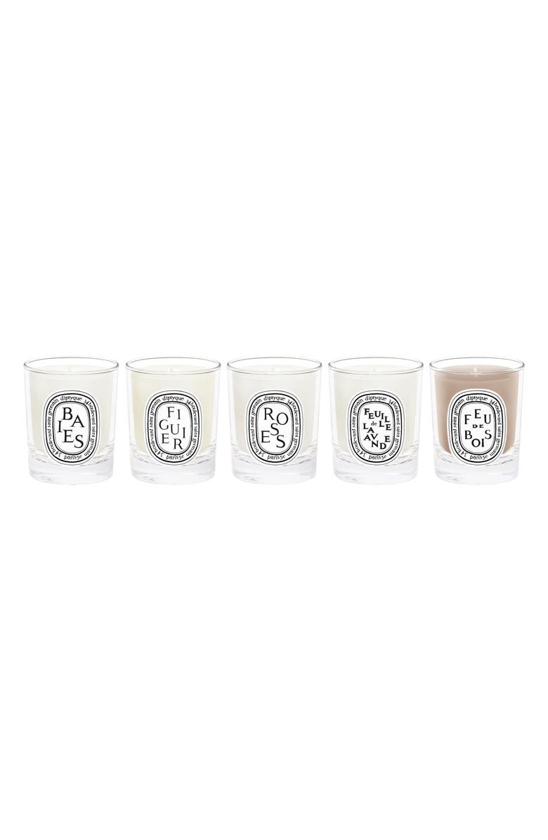 DIPTYQUE Travel Size Scented Candle Set-$82 Value, Main, color, NO COLOR