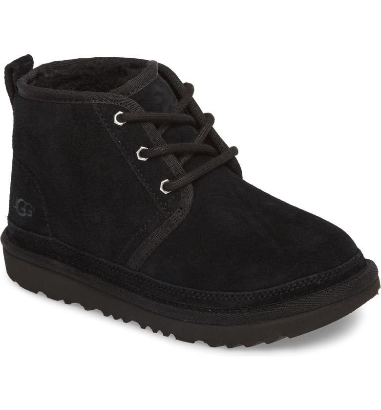 UGG<SUP>®</SUP> Neumel II Water Resistant Chukka Boot, Main, color, BLACK