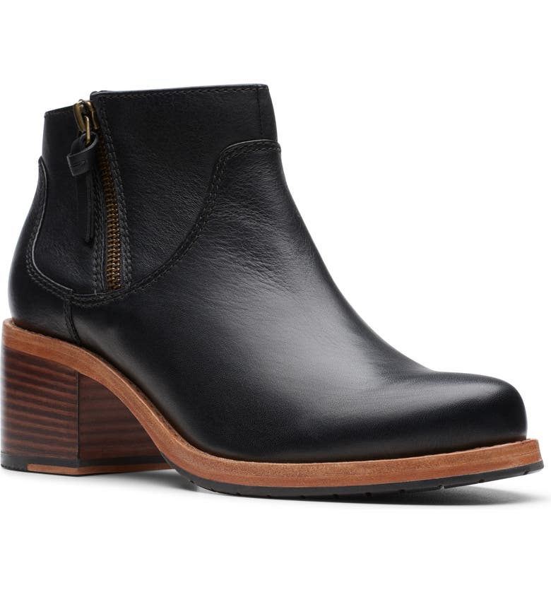 CLARKS<SUP>®</SUP> Clarkdale Dawn Bootie, Main, color, 003