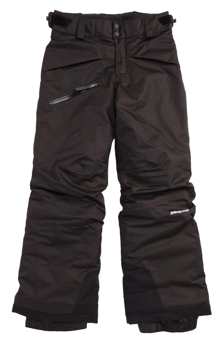 PATAGONIA Snowshot Insulated Snow Pants, Main, color, 002