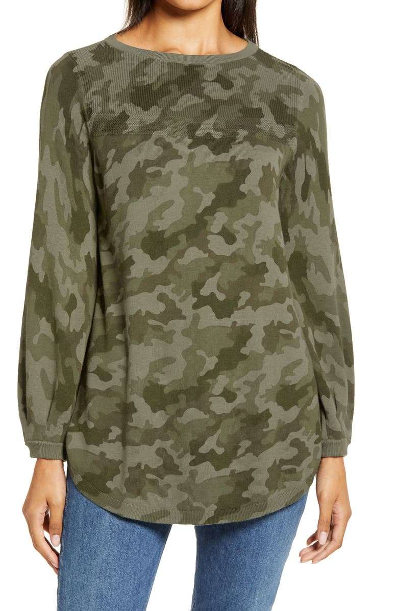 CASLON<SUP>®</SUP> Bishop Sleeve Sweater, Main, color, 310