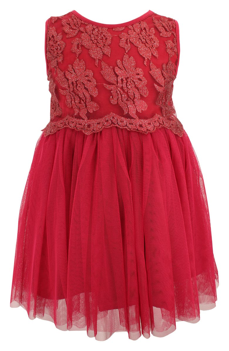 POPATU Lace Tulle Dress, Main, color, 930