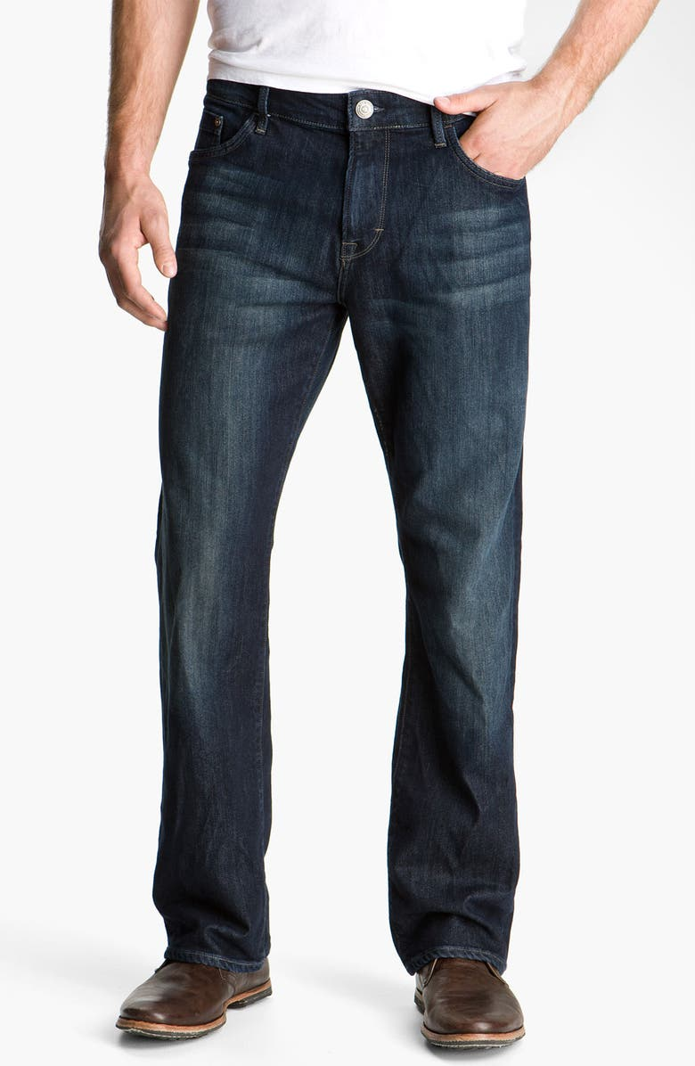 MAVI JEANS Matt Relaxed Fit Jeans, Main, color, DEEP STANFORD COMFORT