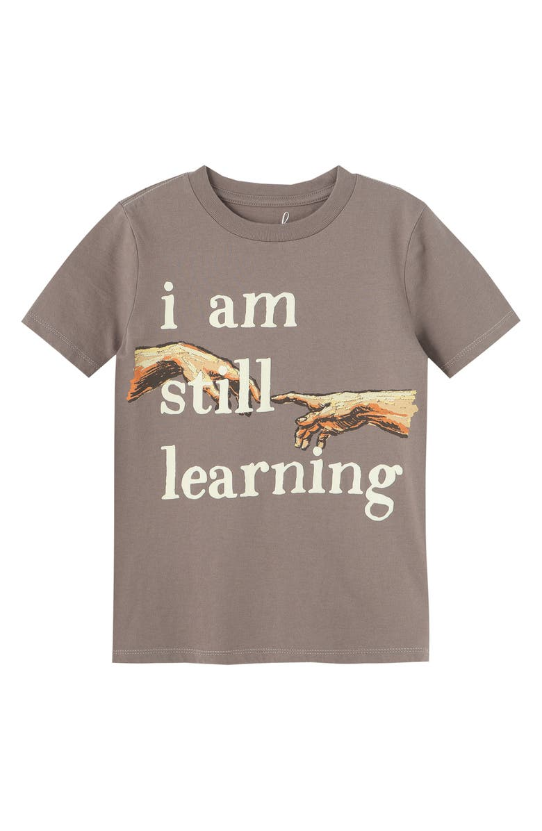 PEEK ARENT YOU CURIOUS I Am Still Learning T-Shirt, Main, color, GREY