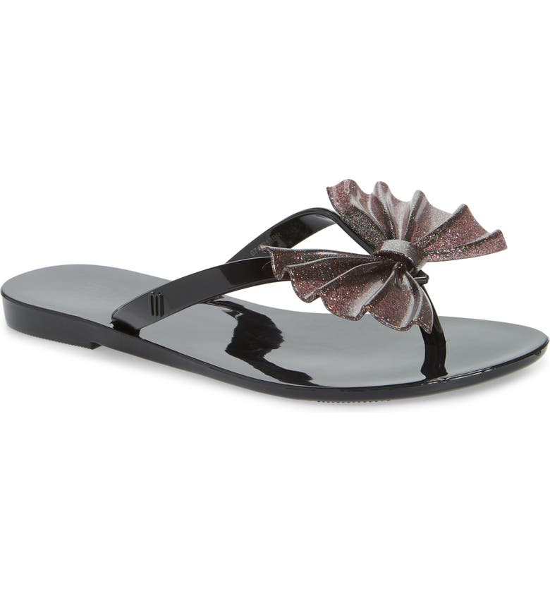 MEL BY MELISSA Harmonic Bow Flip Flop, Main, color, 006