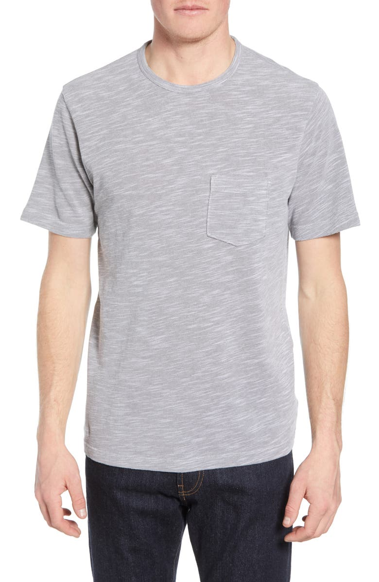 1901 Slub Piqué Pocket Slim Fit T-Shirt, Main, color, 050