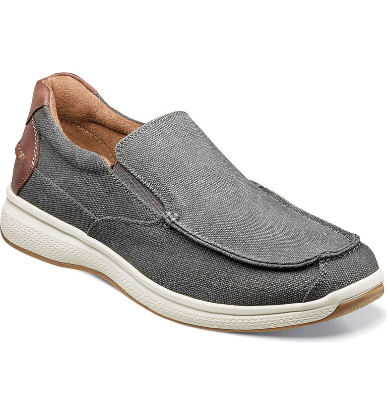 FLORSHEIM Great Lakes Slip-On, Main, color, GREY CANVAS