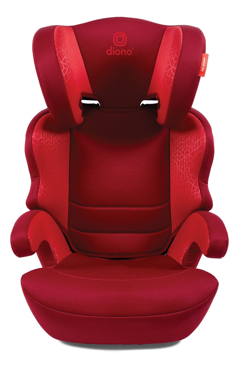 DIONO Everett NXT Booster Car Seat, Main, color, RED