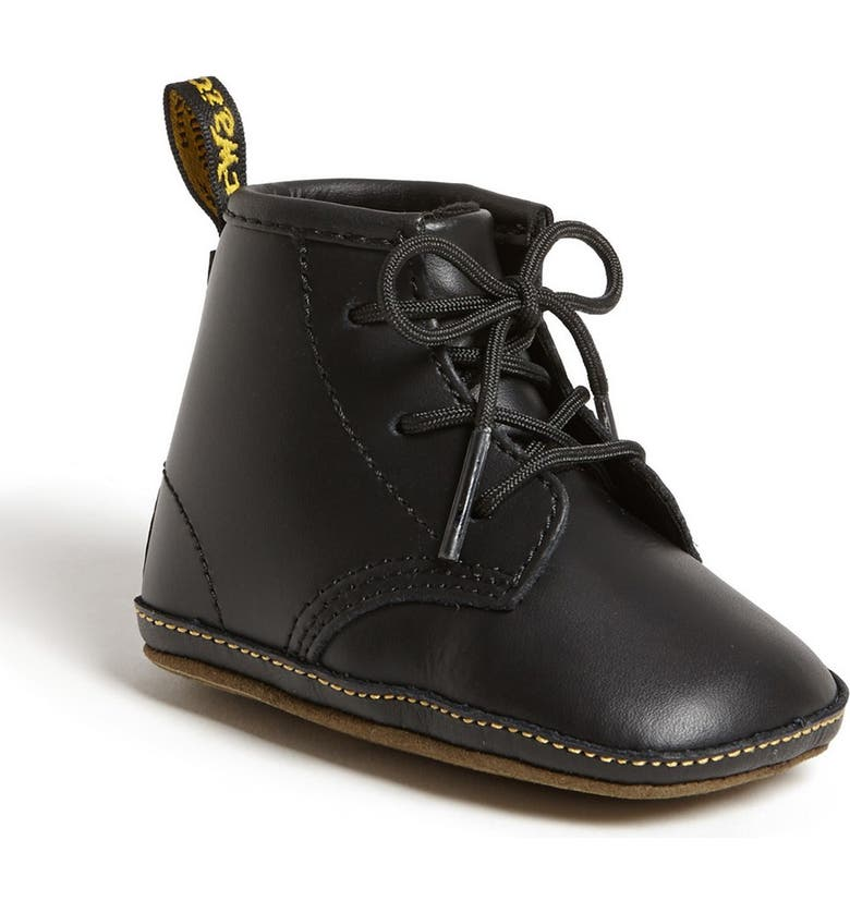 DR. MARTENS Crib Bootie, Main, color, BLACK