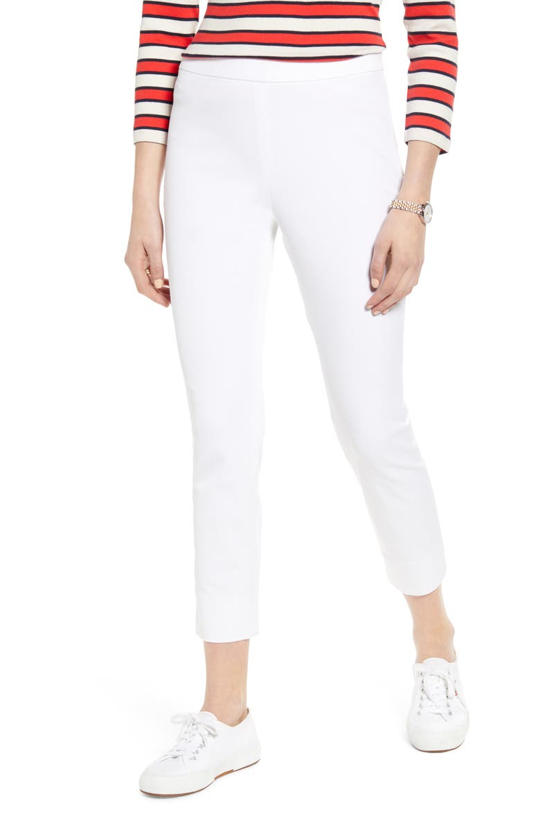 1901 Stretch Ankle Skinny Pants, Main, color, WHITE