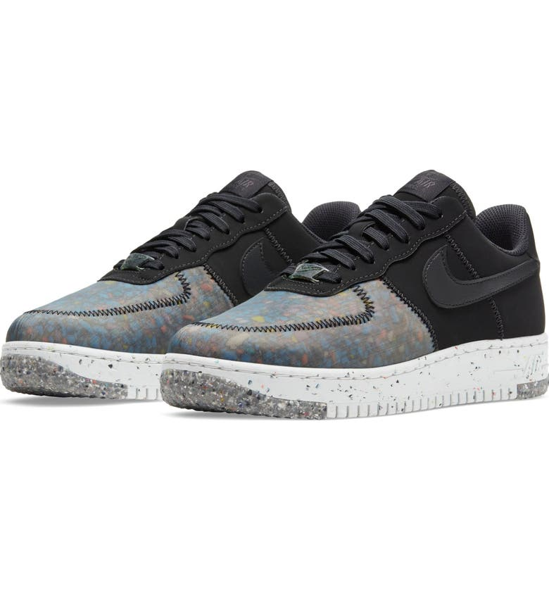 NIKE Air Force 1 Crater Sneaker, Main, color, BLACK/ PHOTON DUST/ GREY