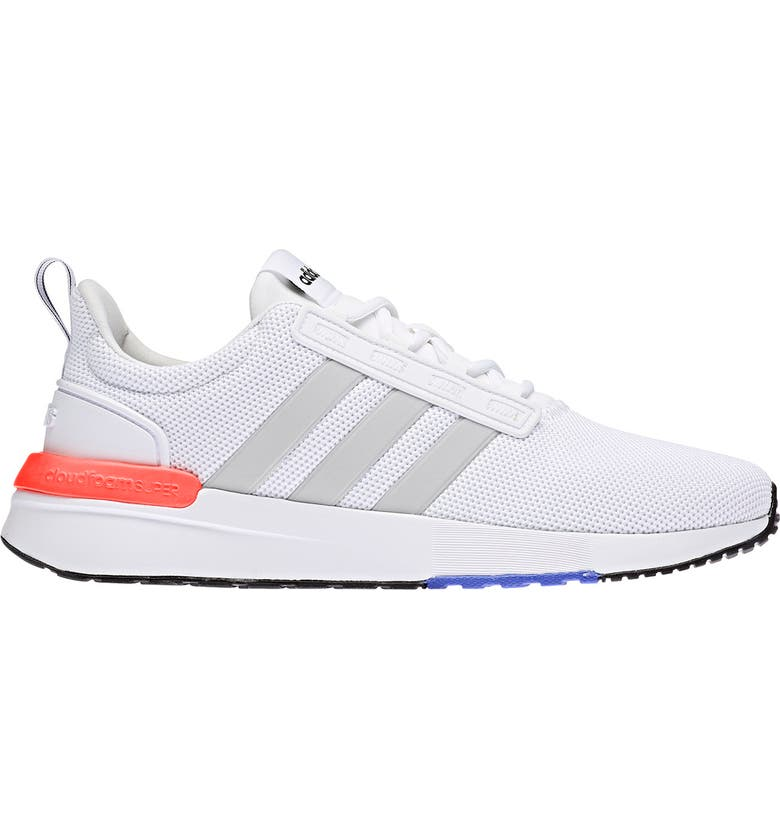 ADIDAS Racer TR21 Wide Running Shoe, Main, color, FTWWHT/GRE