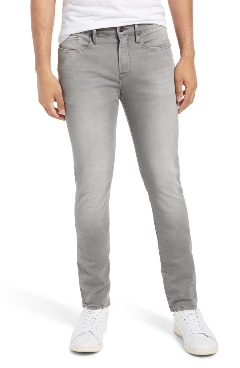 FRAME L'Homme Skinny Fit Jeans, Main, color, SEYMOUR
