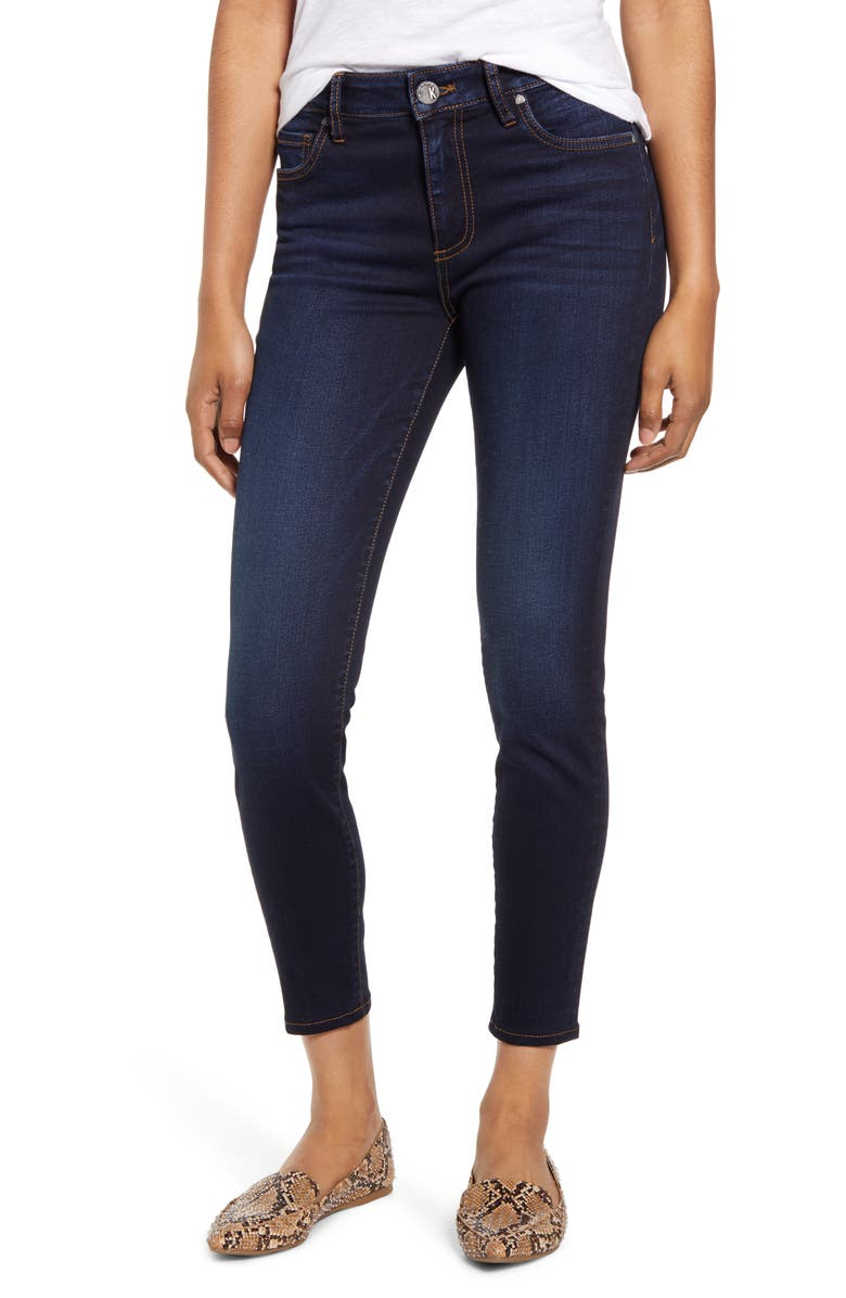 KUT FROM THE KLOTH Donna High Waist Skinny Jeans, Main, color, 400
