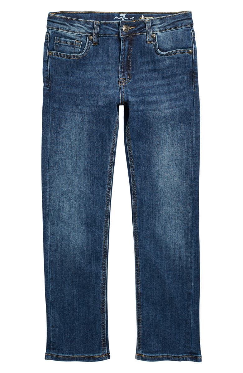 7 FOR ALL MANKIND Slimmy Slim Fit Jeans, Main, color, CONGRESS