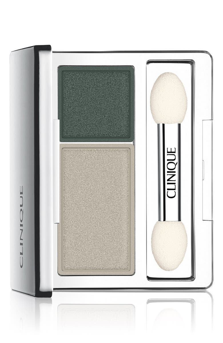 CLINIQUE All About Shadow Eyeshadow Duo, Main, color, 001