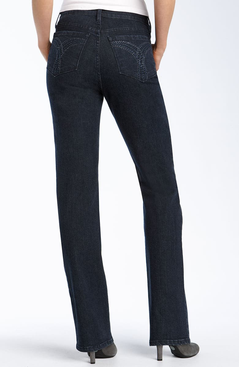 NYDJ Not Your Daughter's Jeans<sup>®</sup> Tummy Tuck<sup>®</sup> 'Marilyn' Jeans, Main, color, BLUE BLACK