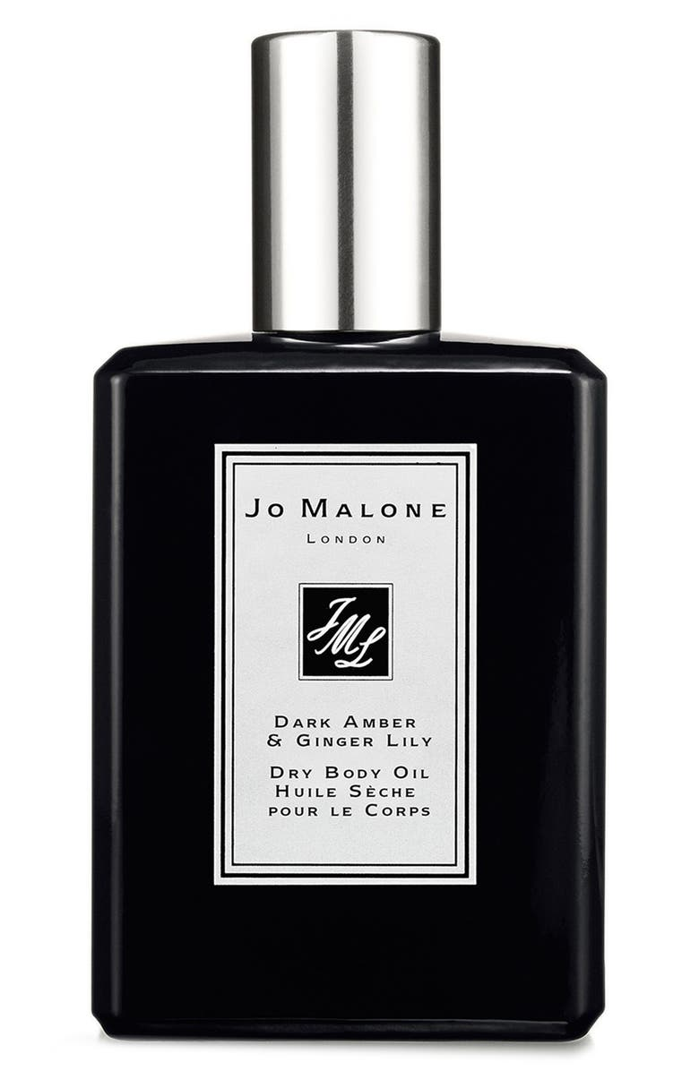 JO MALONE LONDON<SUP>™</SUP> Dark Amber & Ginger Lily Dry Body Oil, Main, color, 000