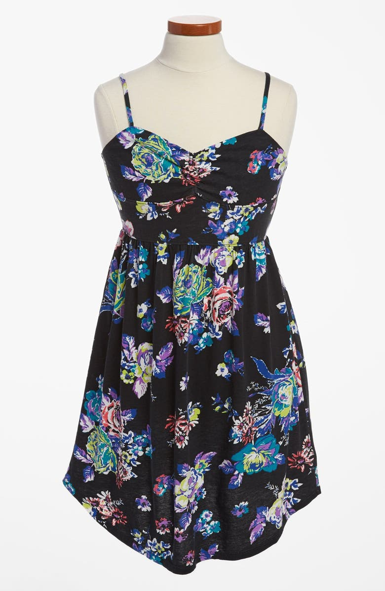 ROXY 'Wide Eyes' Tank Dress, Main, color, 002