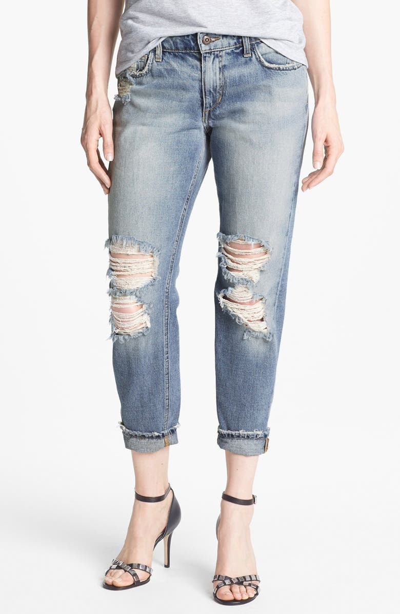 JOE'S 'Easy Highwater' Destroyed Jeans, Main, color, 430