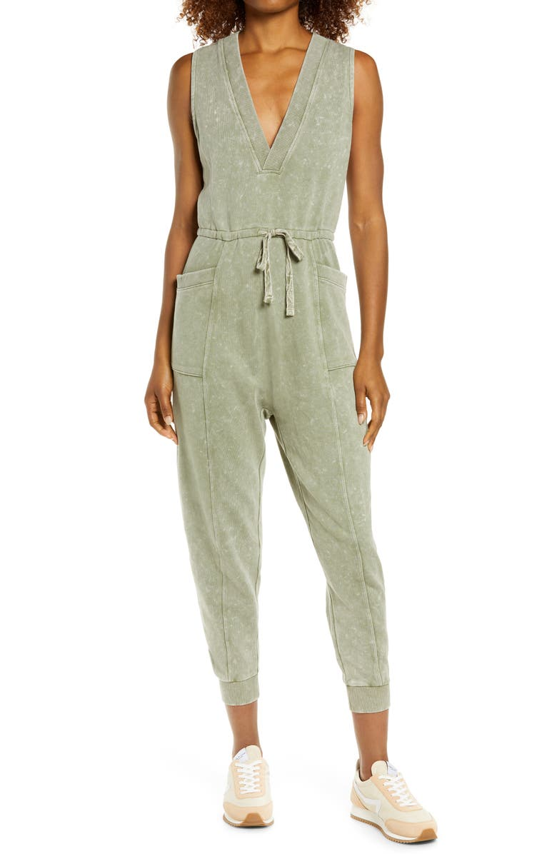 ZELLA All Day Oversize Sleeveless Jumpsuit, Main, color, 301