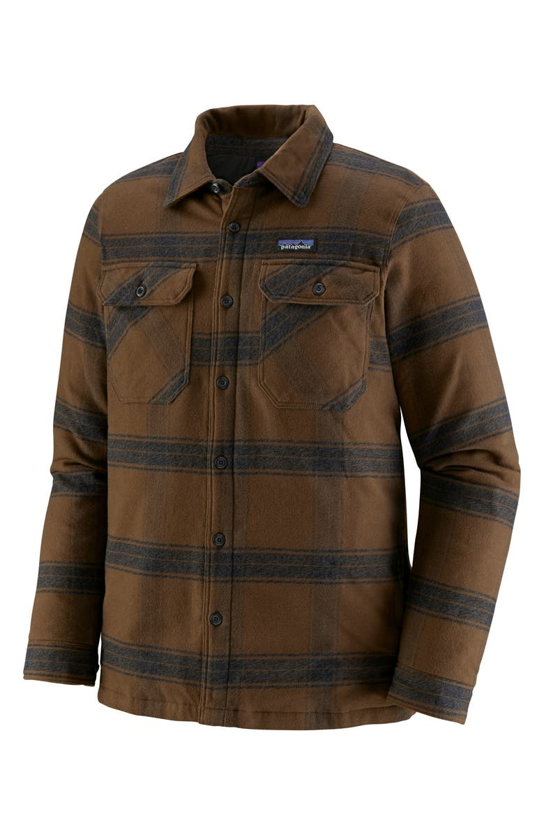 PATAGONIA 'Fjord' Flannel Shirt Jacket, Main, color, 203