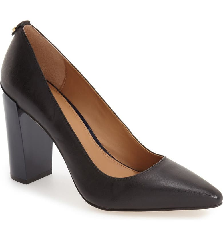 CALVIN KLEIN 'Neema' Pointy Toe Pump, Main, color, 001