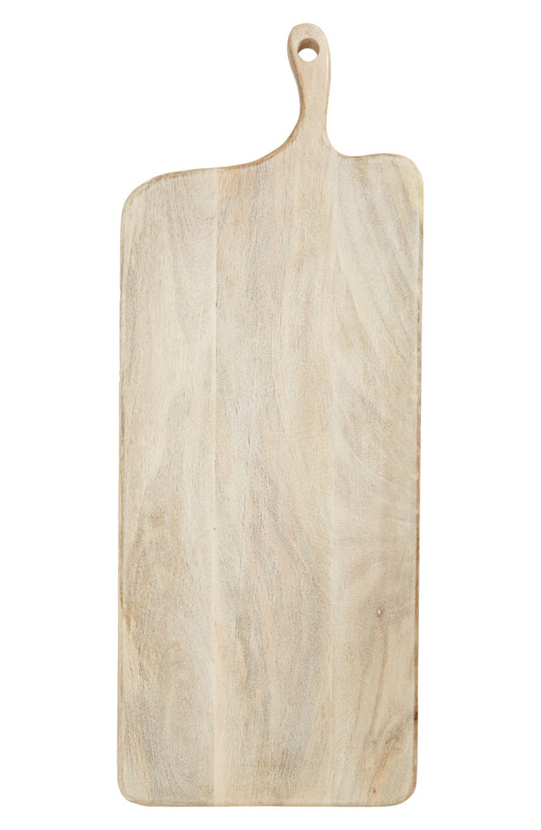 NORDSTROM Extra Large Wood Cheese Board, Main, color, BLONDE