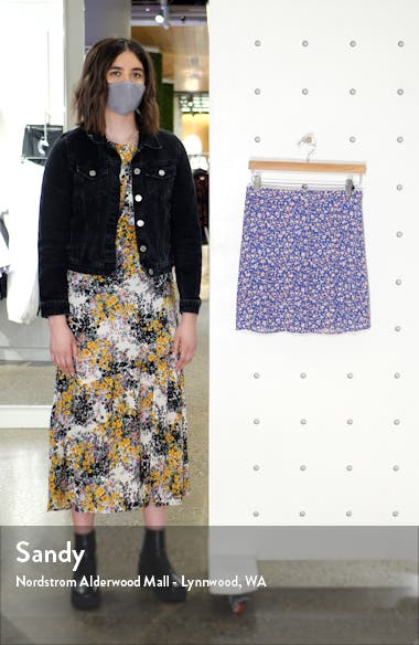 Summer Vines Porch Side Button Skirt, sales video thumbnail