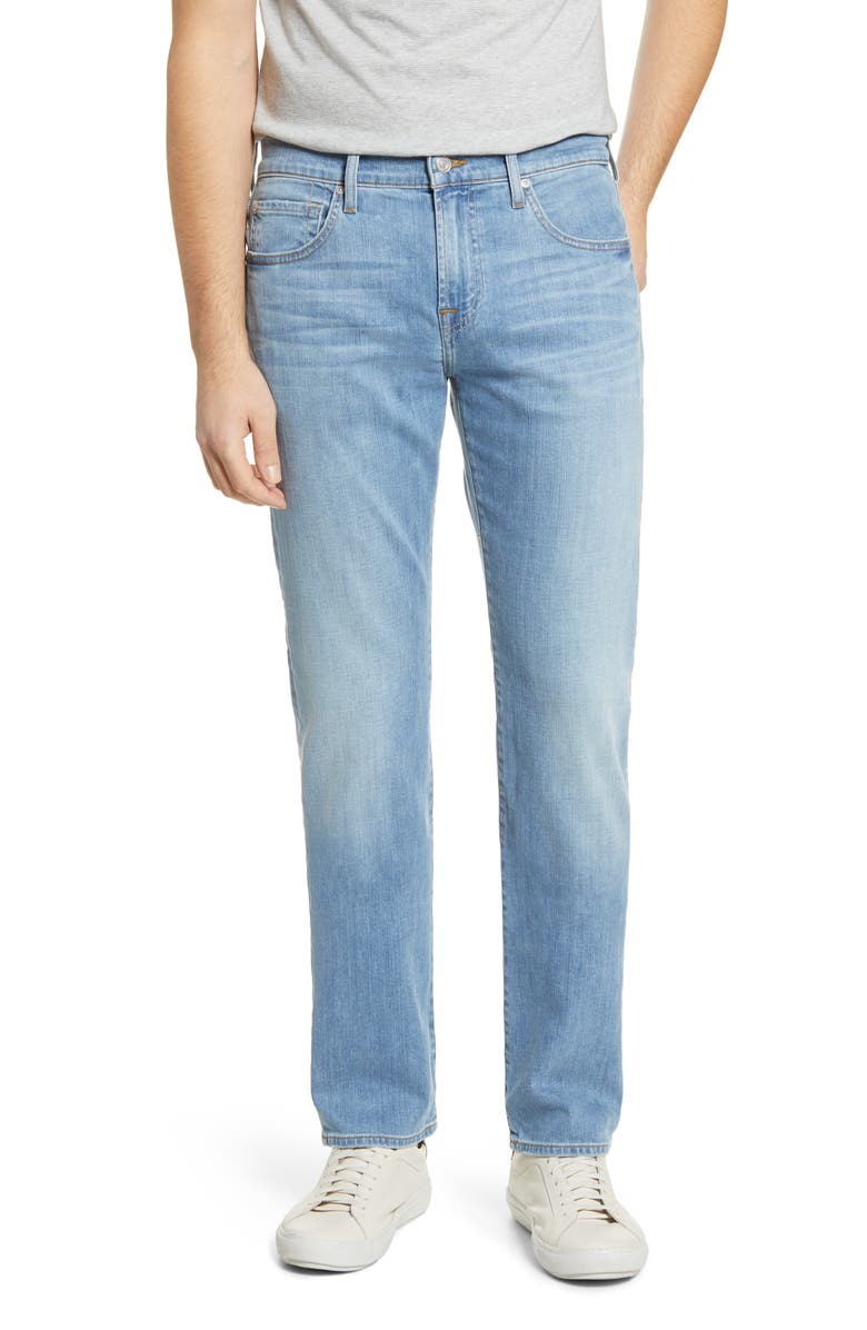 7 FOR ALL MANKIND<SUP>®</SUP> The Straight Slim Straight Leg Jeans, Main, color, VALHALLA
