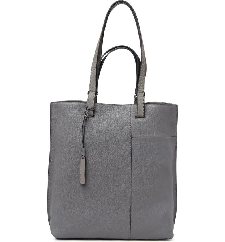 VINCE CAMUTO Casia Leather Tote, Main, color, OXFORD 04