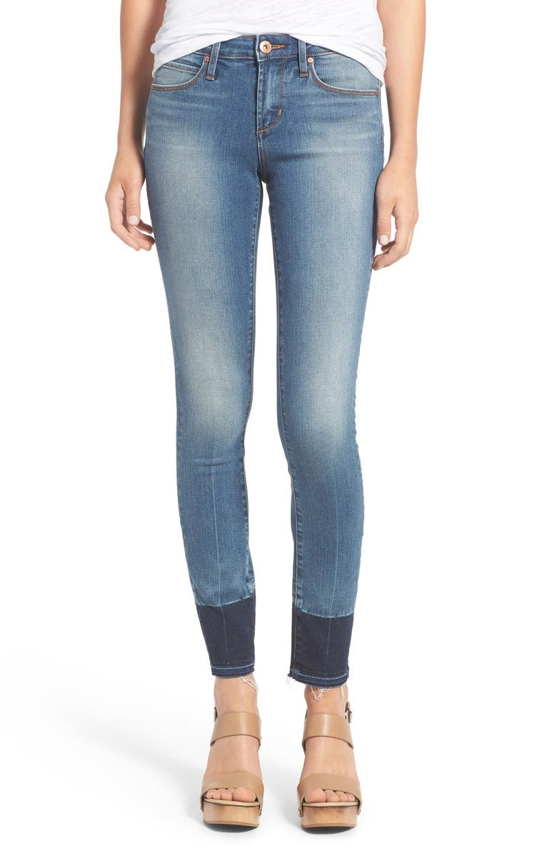 ARTICLES OF SOCIETY 'Sarah' Skinny Jeans, Main, color, PALM