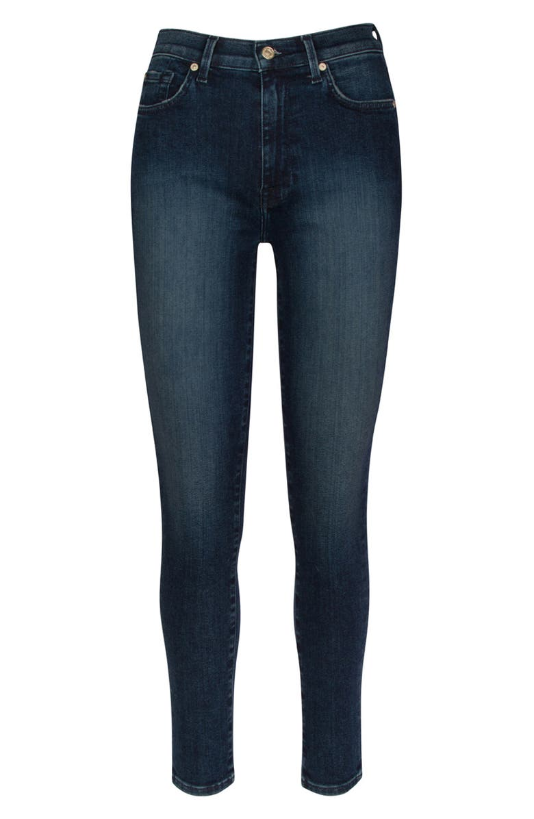 7 FOR ALL MANKIND<SUP>®</SUP> Seven The Aubrey Ultra High Waist Ankle Skinny Jeans, Main, color, RIVINGTON