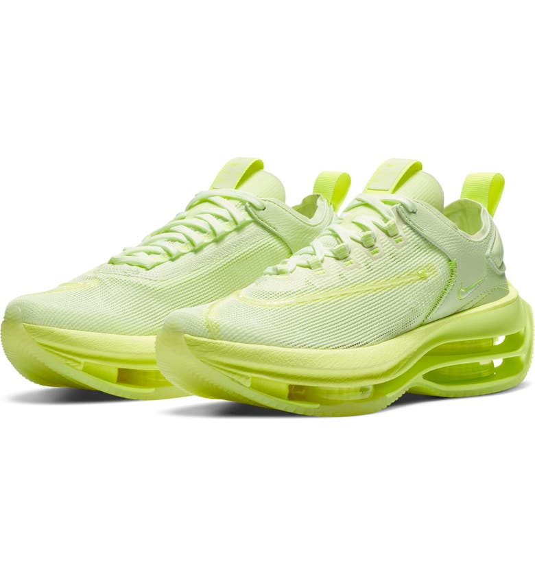 NIKE Zoom Double Stacked Sneaker, Main, color, VOLT/ VOLT/ BARELY VOLT