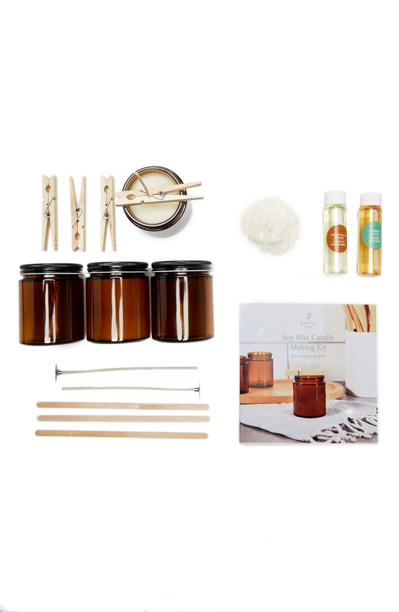 BALTIC CLUB Soy Wax Candle Making Kit, Main, color, 900