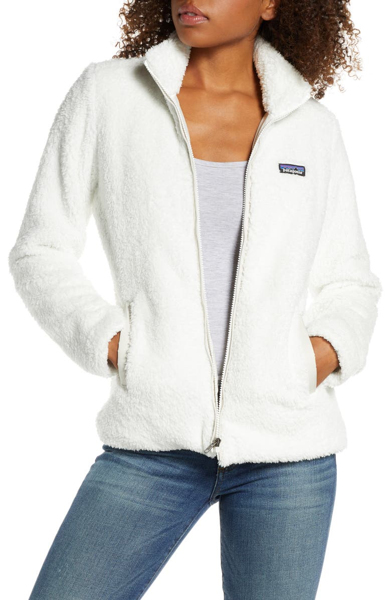 PATAGONIA Los Gatos Fleece Jacket, Main, color, BIRCH WHITE