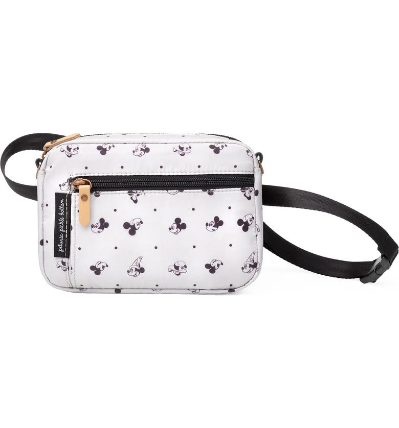 PETUNIA PICKLE BOTTOM x Disney Mickey Mouse Belt Bag, Main, color, BEIGE