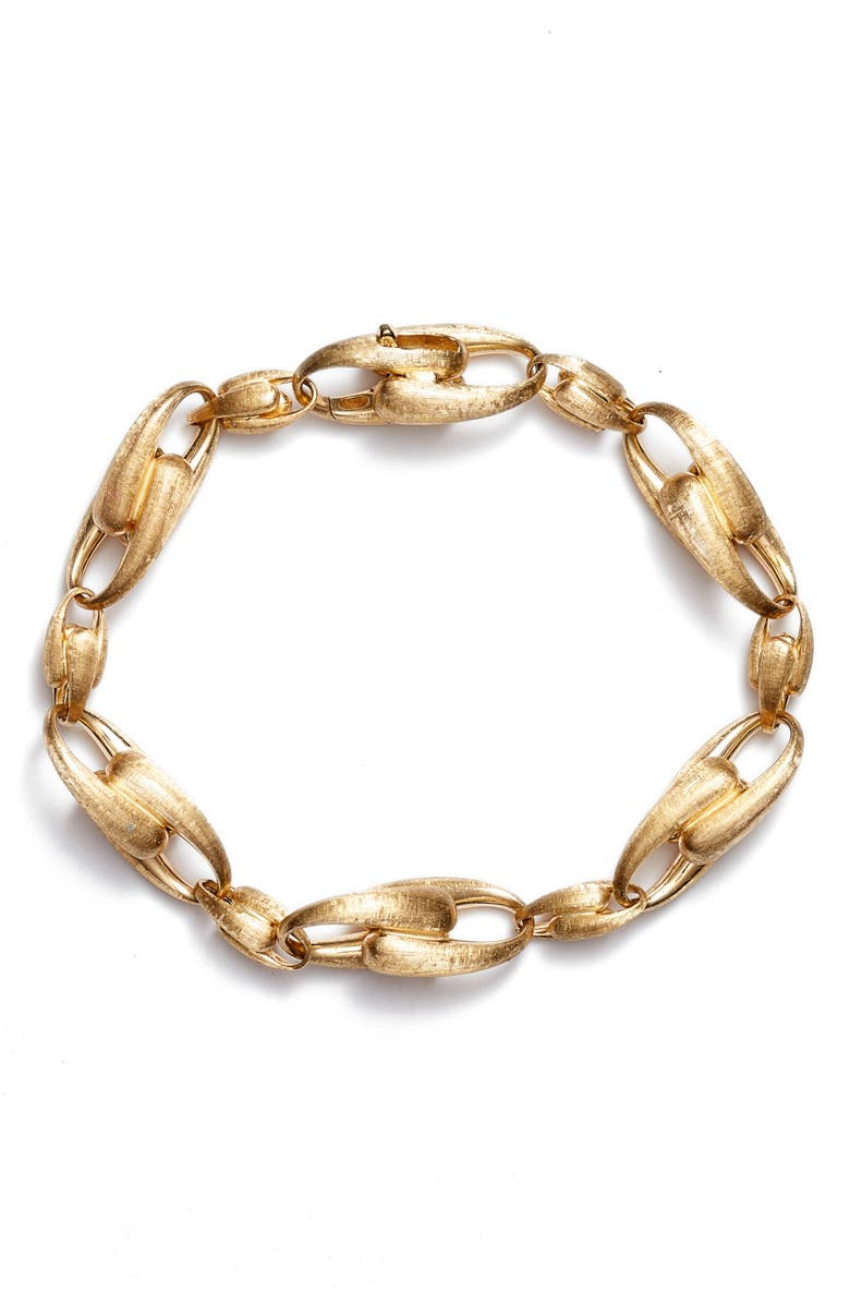 MARCO BICEGO Lucia Link Bracelet, Main, color, YELLOW GOLD