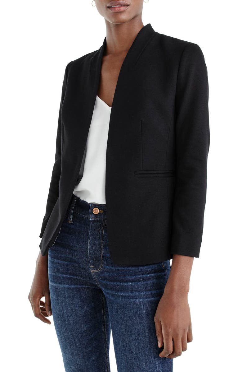 J.CREW Going Out Blazer, Main, color, 001